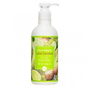 Pure Natural Lime Coconut Firming Body Cleanser